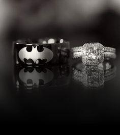 I wouldn't mind letting him get a Batman wedding band.