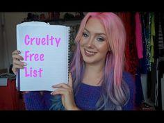 My Cruelty Free MAKEUP List!