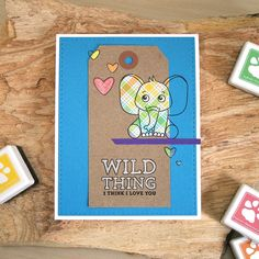 My Impressions: SSS April 2017 Card Kit with Spotlighting (& Giveaway)