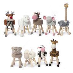 Animal crutch Hooks Part 1 - Haken - Animals Crochet Home, Crochet For Kids, Diy Crochet, Crochet Furniture, Stool Covers, Crochet Animals, Yarn Crafts, Woodworking Crafts, Handmade Toys