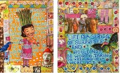 Art Journal Tutorials by Fern.  Pretty much everything you ever wanted to know about art journaling!