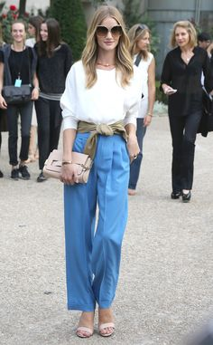 Rosie Huntington-Whiteley's outfit is EVERYTHING!