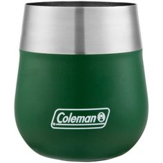 Coleman Claret mL Heritage Green Insulated Wine Glass by Coleman at Fleet Farm Insulated Lunch Bags, Outdoor Cooking, Kitchen Gadgets, Wine Glass, Container, Outdoors, Camping, Green, Campsite