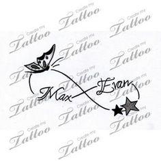 Help..Need loving creative tattoo with my kids names-inner wrist | kids #164931 | CreateMyTattoo.com