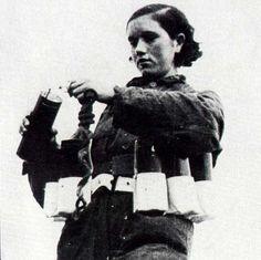 """Rosario Sánchez Mora, """"la Dinamitera"""", explosives expert and Spanish Republican hero"""