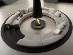 awesome sunken living area