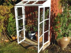 """Visit our web site for additional info on """"greenhouse plans"""". It is actually a superb place to find out more. Greenhouse Growing, Greenhouse Plans, Greenhouse Gardening, Window Greenhouse, Plant Watering System, Greenhouse Supplies, Old Windows, Green Garden, Hydroponics"""