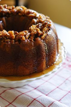 Christmas Rum Pudding Cake