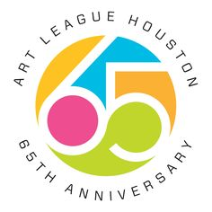 Axiom: Creative Energy: Art League Houston 65th Anniversary Logo