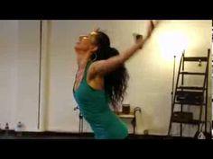 Clase de Danza Africana con Sonia Sampayo. Para elMundo.es. Agosto 2013