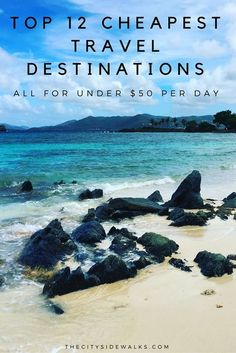 Discount Airfares Through The USA To Germany - Cost-effective Travel World Wide Stretch Your Money And Travel To These 12 Affordable Travel Destinations. Insight: Each Can Cost Less Than 50 A Day Travel Deals, Travel Guides, Travel Tips, Travel Hacks, Travel Advice, Travel Essentials, Solo Travel, Travel Checklist, Trip Deals