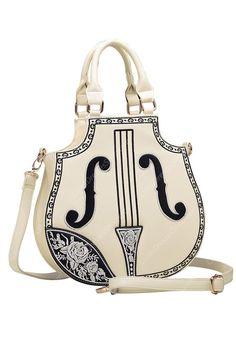 Handbags & Wallets - Cute Violin | Cute Violin Fashion PU Lolita Bag - How should we combine handbags and wallets?