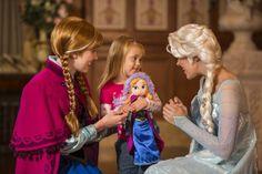 Anna and Elsa move to Magic Kingdom
