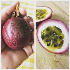 It's our first proper passionfruit from one of the two vines we've been growing on our balcony! So refreshing with creamy yoghurt!   #greenthumb #gardener #gardening #harvest #homegrown #homegrownfood #ilovemygarden #balconygarden #urbangarden #urbangardening #gogreen #realfood #growsomethinggreen #growyourown #sustainability #sustainableliving #mygarden #mybalcony #smallgarden #plantlife #greenliving Re-post by Hold With Hope