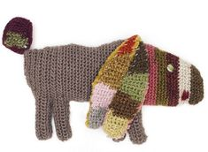 Who could resist one of these sweet crochet animal brooches by Sophie Digard - available at £45.00 each from Selvedge.