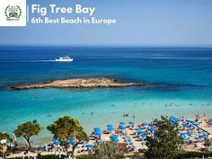 Fig Tree Bay is 6th best beach in Europe! Where are you going to go this summer? #figtreebay  #protaras #summer2016 #enjoy #relax #yolo #lifo #life #beach #cyprus #capobay #landscape
