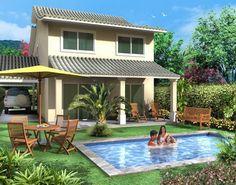 Resultado de imagem para projeto de casa de praia