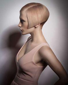 2015 peach toned asymmetric bob hairstyle - Hairstyle Gallery - Another! Hair A, Love Hair, Great Hair, Medium Hair Styles, Short Hair Styles, Shaved Nape, Wild Hair, Beautiful Long Hair, Short Hairstyles For Women
