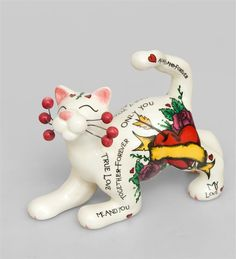 "Фигурка ""Кот Ловелас"" CMS-31/31 (Pavone)   Бренд: Pavone (Италия);      Страна производства: Китай;   Материал: керамика;   Длина: 11,5 см;   Ширина: 4,5 см;   Высота: 8,5 см;   Вес: 0,08 кг;      #кошка"