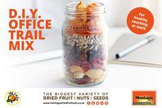 Dried Fruit, Envy, Healthy Snacks, Healthy Lifestyle, Oatmeal, Trail, Seeds, Breakfast, Food