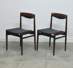 Vintage Palisander Dining Chairs, Set of 2