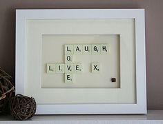 Scrabble sayings.