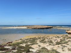 Quobba Point's rugged coastline