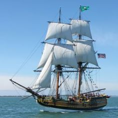 Adventure Sail aboard the Lady Washington. Portside tours daily. Sails to Vancouver for the summer, San Diego for the winter.