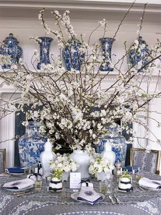 The Enchanted Home: Are you a member of the blue and white club?