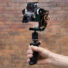 STABiLGO, A Motorized Stabilizer for GoPro Cameras
