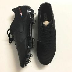Black Football Boots!!! Yes Just Like The Good Old Days #OldSkool
