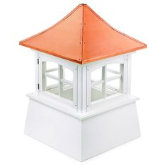 Windsor Cupola 18-inches by 25-inches by Good Directions (18 inches), Brown copper, Outdoor Décor