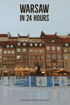 Warsaw in 24 hours: Places to visit in a flash - Explore with Ecokats European Destination, European Travel, Europe Travel Tips, Travel Destinations, Amazing Destinations, Travel Guide, Germany And Italy, Wild Forest, Poland Travel
