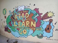 Wall Mural for Aeta children @ Porac, Pampanga