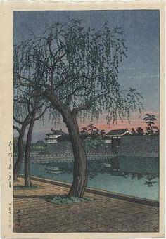 Hasui Springtime Evening