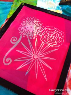 Diary of a Crafty Chica Diary of a Crafty Chica #screenprinting #tuplipscreenit