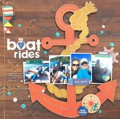 we love boat rides October Afternoon, Love Boat, Basic Grey, Happy Day, Our Love, Sailing, Paper Crafts, Crafty, My Favorite Things