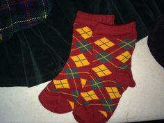 *Muffy vanderBear ~Scottish Highlands socks