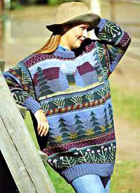KUUTAMO SININEN, Design Sirkka Könönen Knit Art, Cape Jacket, Fair Isle Pattern, Knitting Magazine, Fair Isle Knitting, Textile Artists, Autumn Winter Fashion, Designer, Free Pattern