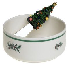 Nikko Ceramics Christmas Giftware Cheese Spreader Set by Nikko Ceramics. $13.69. Additional Christmas Giftware styles are also available which complement Nikko's Happy Holidays and Christmastime Holiday patterns. Crafted from durable fine ironstone. A wonderful holiday gift or addition to your Nikko Happy Holidays or Christmastime collections. Safe in oven, microwave, and dishwasher. The 2pc. Set includes a decorated Serving Bowl and Spreader. Nikko's Christmas Giftware is i...