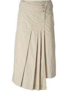 You'll find a great selection of designer asymmetric skirts at Farfetch. Search from over 2000 designers for your perfect designer asymmetrical skirt Pleated Skirt, Dress Skirt, Midi Skirt, Kitenge, Asymmetrical Skirt, Layered Skirt, Online Shopping For Women, Japan Fashion, Cotton Skirt