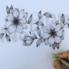 """""""Inspire"""" by @roxyprima  #Goodtype #StrengthInLetters by goodtype"""