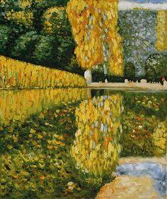Schonbrunn Park, Gustav Klimt