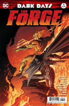 DC Dark Days THE FORGE #1 NM 1st Print (Aquaman Variant Cover)