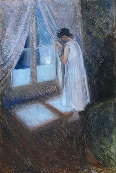 Munch - The Girl by the Window