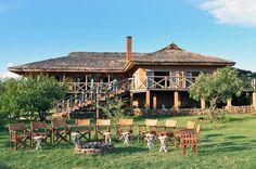 African safari accommodation Sanctuary Escarpment Lodge, just outside Lake Manyara, Tanzania.