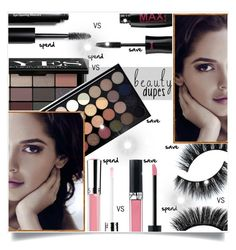 """""""Beauty Dupes"""" by captainsilly ❤ liked on Polyvore featuring beauty, Bobbi Brown Cosmetics, Sephora Collection and Christian Dior"""