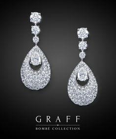 Graff Diamonds: Bombé Teardrop Earrings