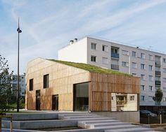 CENTRE SOCIOCULTUREL Christian Marin, Limeil-Brévannes, 2015 - Guillaume Ramillien Architecture