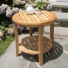 Seneca round side table.